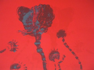 Poppies II Red Shadow