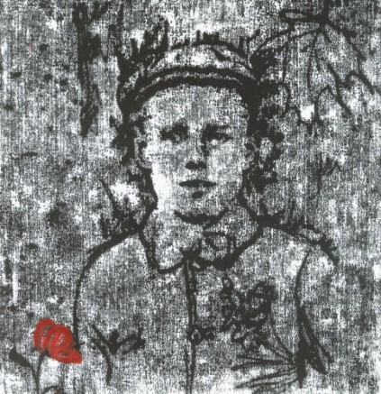 Harry 1916. Mono print