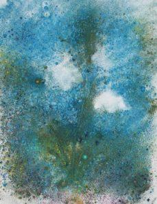 Snowdrop monoprint 1
